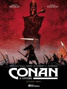 Conan il Cimmero: Colosso nero, copertina di Ronan Thoulhoat