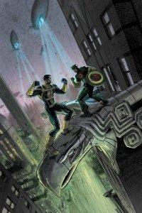 Hail Hydra #3, copertina di Andrew C. Robinson