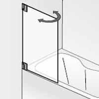 HSK K2 bewegliches Element fr Badewanne | BadDepot.de
