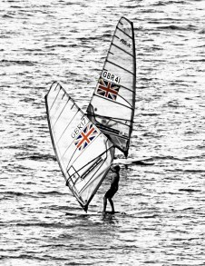 THE BRITISH SAILING TEAM. CHRIS WHITE.08.09.2015 copy
