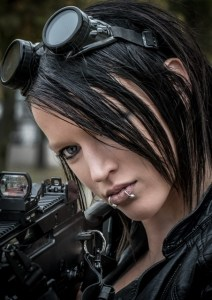 2015 - Steampunk Girl - Richard Huckett