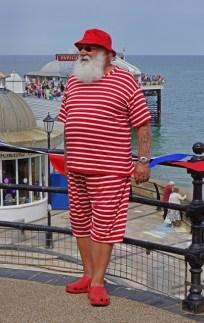 Santa on Holiday