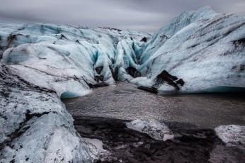 Glacial Landscape, 2015, Marion Sidebottom