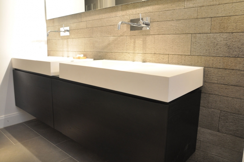 how to install a wall mounted sink