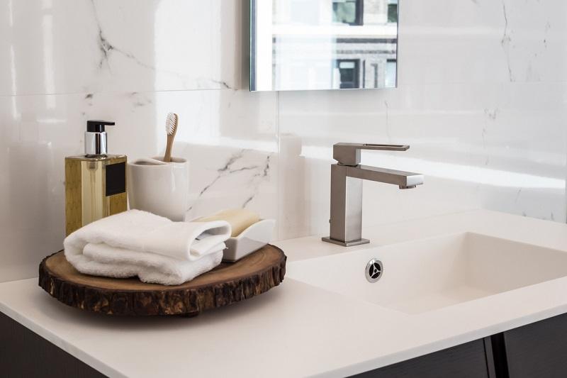 the 4 different bathroom faucet parts