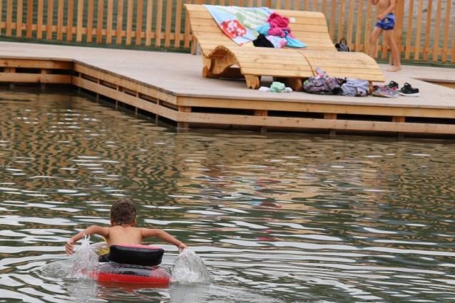 Ein sicherer Hafen - die Kinderbucht. Foto: Knut Kuckel / #tirolbayern