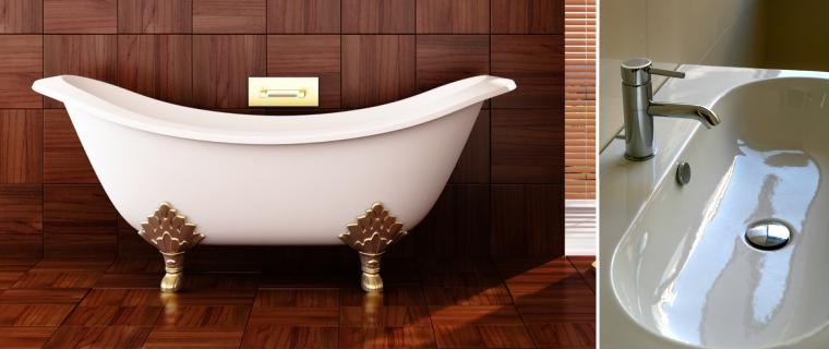 Lackierung Badewanne Waschbecken