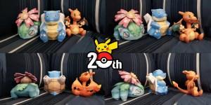 Pokémon papercraft banner