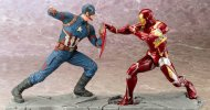Kotobukiya svela le ARTFX+ di Captain America e Iron Man
