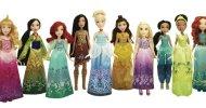 Hasbro, foto e informazioni delle bambole della principesse del 2016