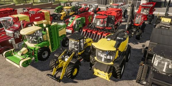 Farming Simulator 19 megaslide