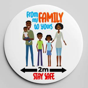 OUR FAMILY LOVE BADGE