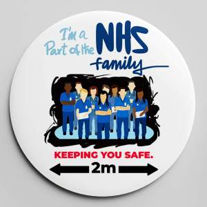 NHS FAMILY BADGE