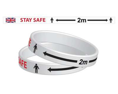 STAY SAFE WRIST BAND (3 Sizes Available)