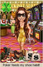 BadgeHungry Hot Shots: Poker feeds my shoe habit!