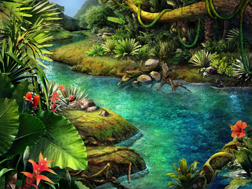 Claire Hart - Tropical Thief - River