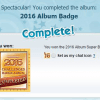Now Available: 2016 Album Badge