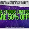 Grandma Studios Limited Games are 50% Off