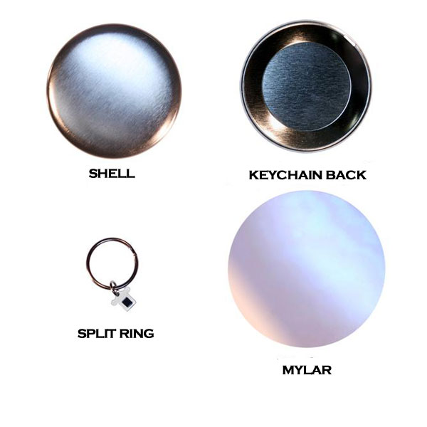 Keychain Button Set