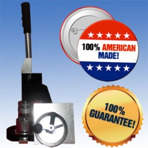 100% American Made Button Machines and Parts