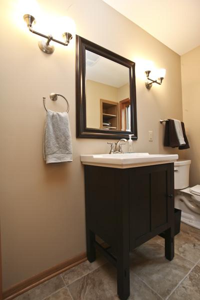Main and Half Bath Remodel  Badger Carpentry Inc