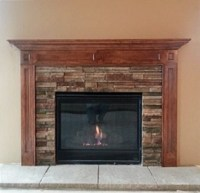 Stone veneer fireplaces   Cultured stone   Boral cultured ...