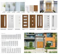Modern Exterior Doors - Badger Corrugating Company