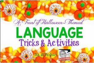 Halloween-themed Language Tricks and Activities!