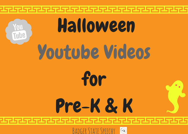 Halloween Youtube Videos for Language Therapy