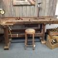 Old german workbench badger woodworks