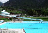 Im Schwimmbad Geschina Brig