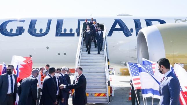 وفد رسمي بحريني يزور تل أبيب