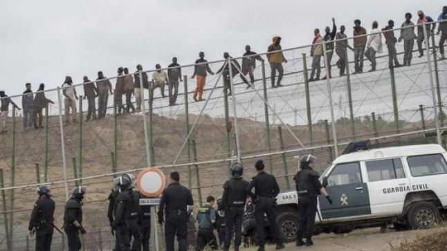 مهاجرون مغاربة يلقون حتفهم في قناة للصرف الصحي بمليلية