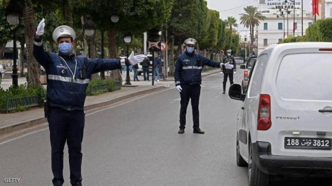 تونس تمدد حظر التجول لمواجهة كورونا