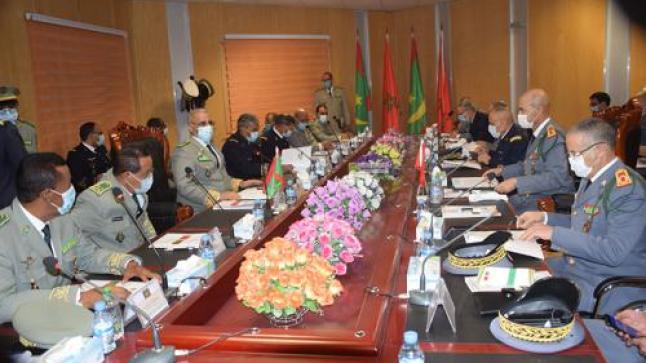 انعقاد الاجتماع الثاني للجنة العسكرية المشتركة الموريتانية _المغربية