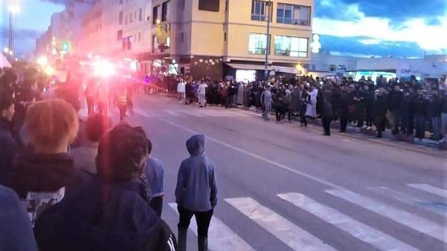 """الفنيدق.. حقوقيو حزب """"الاستقلال"""" ينتصرون للمواطنين ضد السلطات ويدعون للتهدئة"""