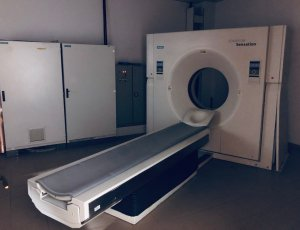 """This is """"the machine"""" or MRI Scanner"""