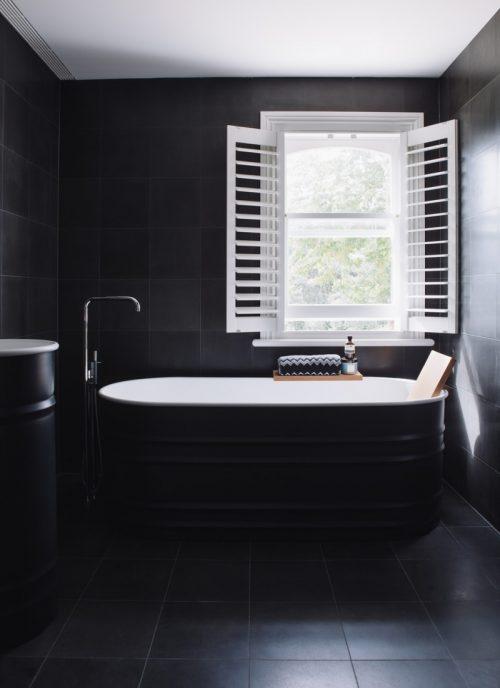 Zwarte badkamers Archives  Badkamers voorbeelden