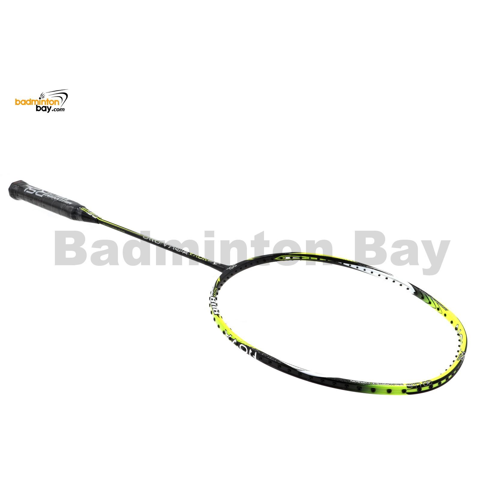 Rsl Nova Lime Black Badminton Racket 4u G5