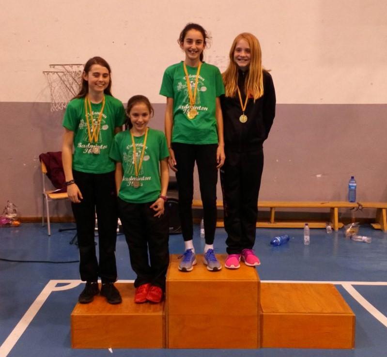 Laura Anglada - Paula Llavero (1º Dobles Femenino Sub-13) - Campeonato Balear 2018
