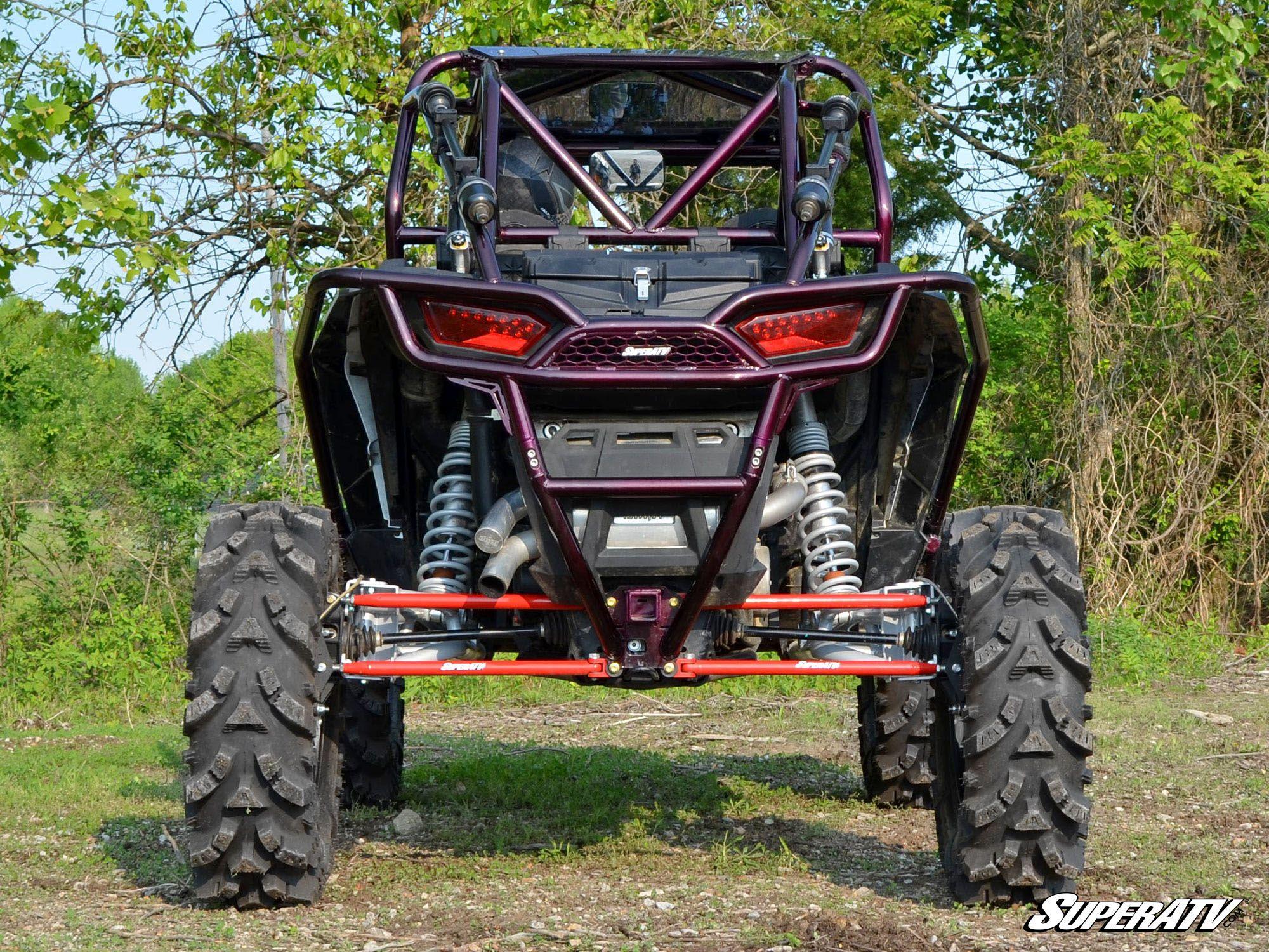 hight resolution of superatv polaris rzr 1000 6 portal gear lift