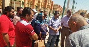 إعفاء ملاك الإسكان الاجتماعي بمدينة بدر من مصاريف توصيل الغاز
