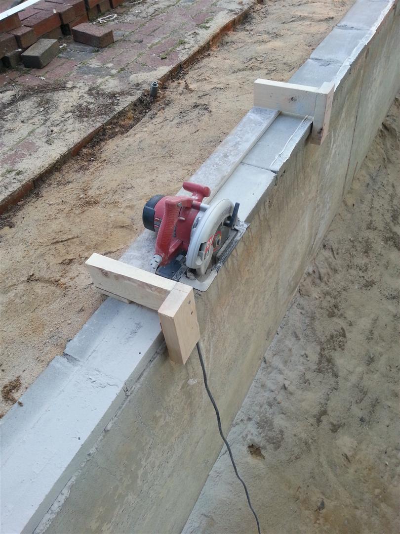 Profile Form Concrete Wall