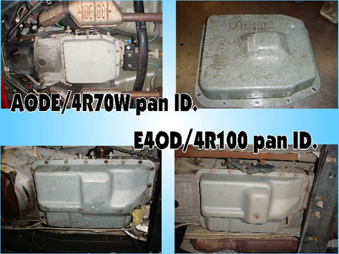 4r100 Transmission Valve Body Diagram Which Transmission Ford Bronco Forum