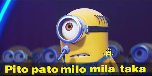 Cattivissimo Me 3 Minions karaoke