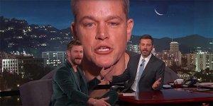 Chris Hemsworth Matt Damon Jimmy Kimmel