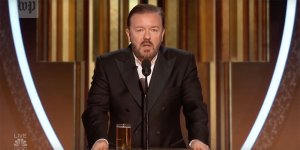 Golden Globes Ricky Gervais