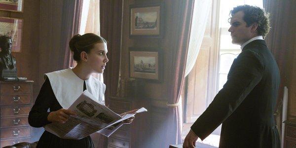 Henry Cavill Sherlock Enola Holmes Netflix