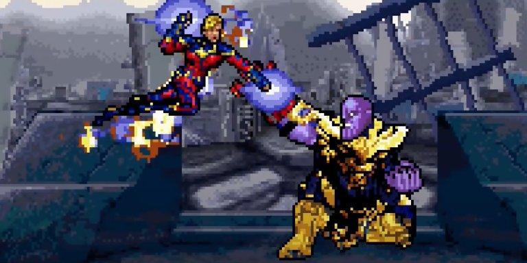 avengers endgame 16 bit