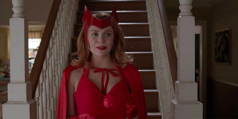 elizabeth olsen doctor strange wandavision avengers: endgame spider-man